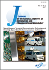 Journal of the National Institute of Information and Communications Technology